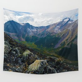Down in the Valley, Pyramid Mt in Jasper National Park, Canada Wall Tapestry