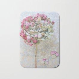 Pastel Dried Hydrangea Bath Mat
