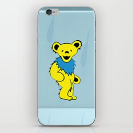 Dancing bears in the shower iPhone Skin
