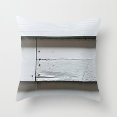 Weatherboards Throw Pillow