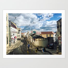 Coffee in Portugal Art Print