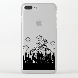 Gino Stomp Clear iPhone Case