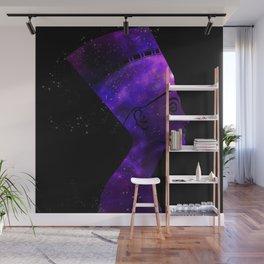 Queen Nefertiti Nebula Dark Stardust Wall Mural