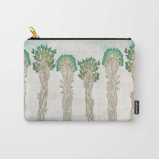 Amazon Trees Carry-All Pouch