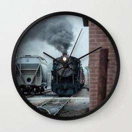 Strasburg Railroad Steam Engine #90 Vintage Train Locomotive Pennsylvania Wall Clock