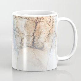 Cotton Latte Marble - Ombre blue and ivory Coffee Mug