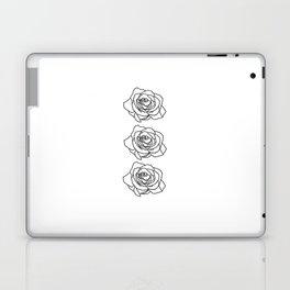 Rose Noire Laptop & iPad Skin
