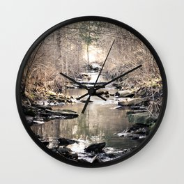 Babble-On Wall Clock