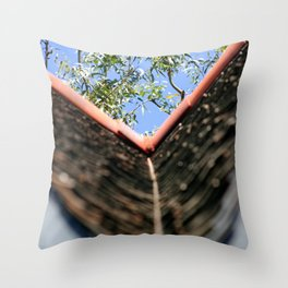 Roof Throw Pillow