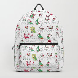 Christmas Dogs Backpack