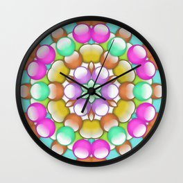 gum drops Wall Clock