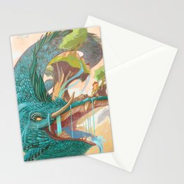 Leviathan, Mover of Continents Stationery Cards