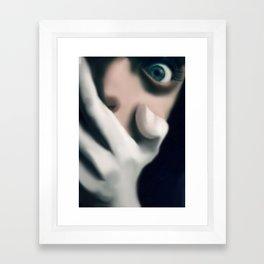 the scare Framed Art Print