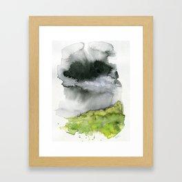 Summer's Rain Framed Art Print