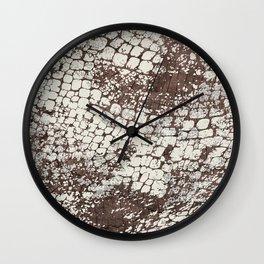 Wrocodile Wall Clock