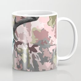 Camouflage Deer Collage Coffee Mug