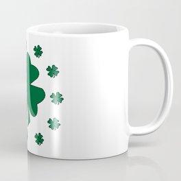 St. Patrick's Day Lucky Clovers Coffee Mug