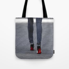 Excess Red Tote Bag