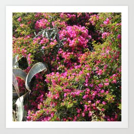 Spring Wild Flowers | Greece #society6 Art Print