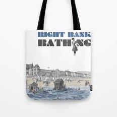 Right bank bathing Tote Bag