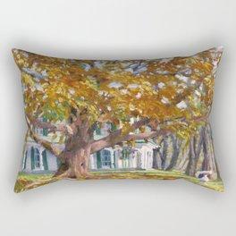 Golden Autumn Rectangular Pillow