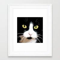 merlin Framed Art Prints featuring MERLIN by SAMHAIN