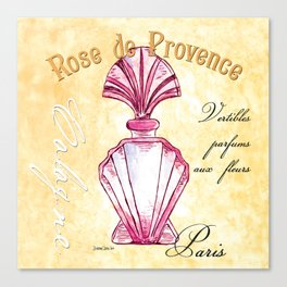 Pink Perfume Spa 1 Canvas Print