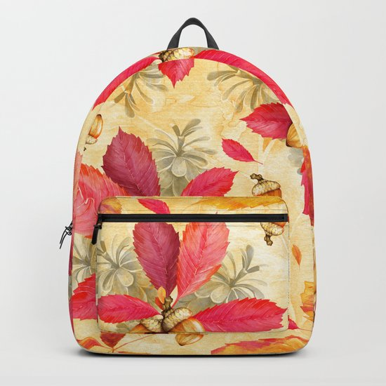 Autumn leaves #25 Backpack