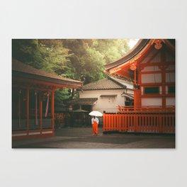 Fushimi-Inari 2 Canvas Print