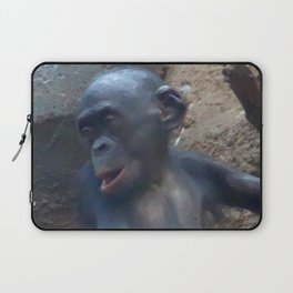 Adorable Chimp Baby Laptop Sleeve
