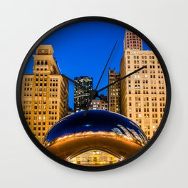 MirrorScape Wall Clock