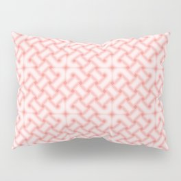 Pink Celtic Knot Pattern Pillow Sham