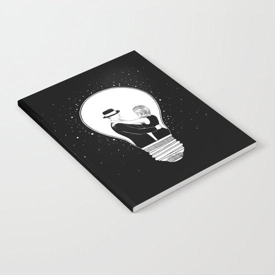 We light up the dark Notebook