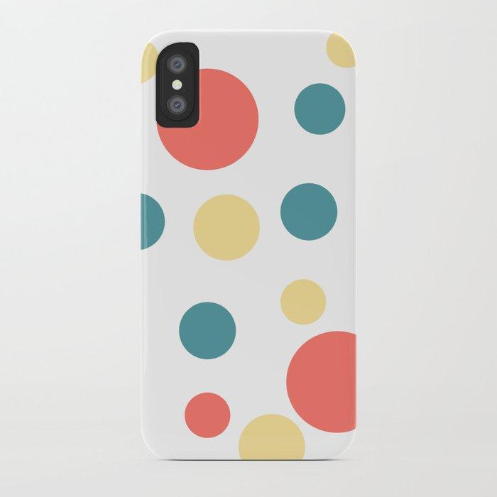 Coral Pop iPhone Case