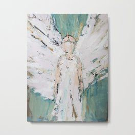 Abstract Angel Painting Metal Print
