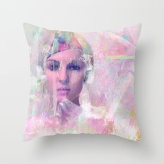 When you appear in my dreams Throw Pillow