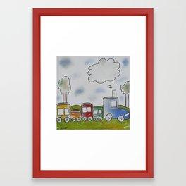 Choo Choo Framed Art Print