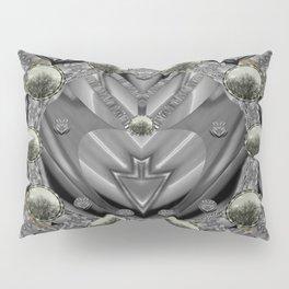 Sunset in sacred metal Pillow Sham