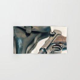 Luger P08 Parabellum handgun. Hand & Bath Towel