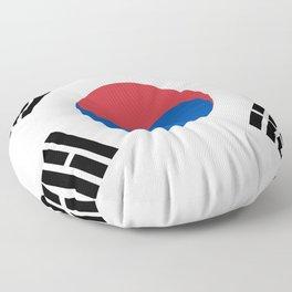 South Korea Flag South Korean Patriotic Floor Pillow