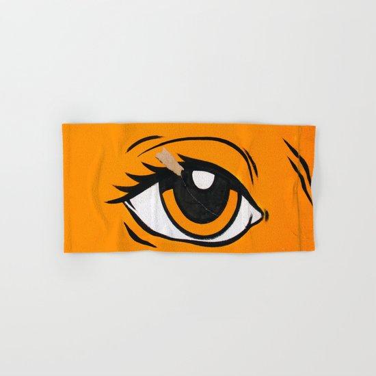 Eye orange 4 Hand & Bath Towel