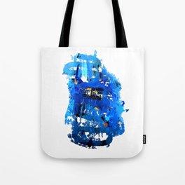 Blue Emotion Tote Bag