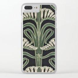 Art Nouveau Botanical Clear iPhone Case