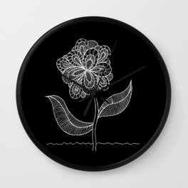 Izzy`s Flower Wall Clock
