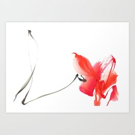 will be your flower Art Print