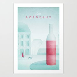 Bordeaux Art Print