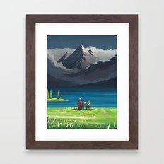 Howl's Moving Castle : Star Lake Framed Art Print