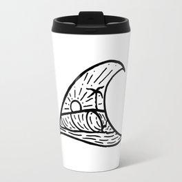 Wave in a Wave Travel Mug