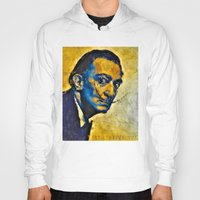 salvador dali Hoodies featuring salvador by KrisLeov