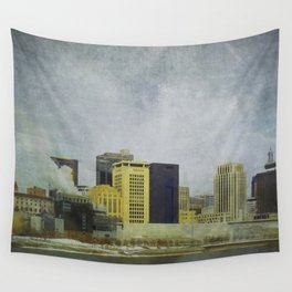 St. Paul Riverfront Wall Tapestry
